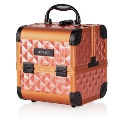 Kufer kosmetyczny Diamentowy Mini Brick Red (MB152M K107-19HK)