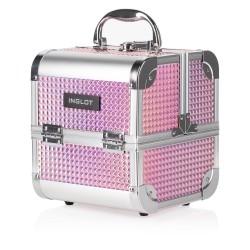 Kufer kosmetyczny Ice Cube Mini Holographic Pink (MB152M K105-9H)