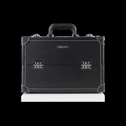 Kufer kosmetyczny z białą nicią średni (KC-P10B)