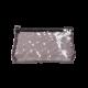 Kosmetyczka transparentna brązowa (R23973C)