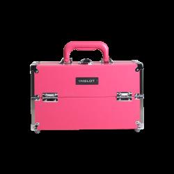 Kufer kosmetyczny klasyczny różowy (KC-M29)