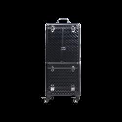 Kufer kosmetyczny diamentowy czarny (KC-JY02)