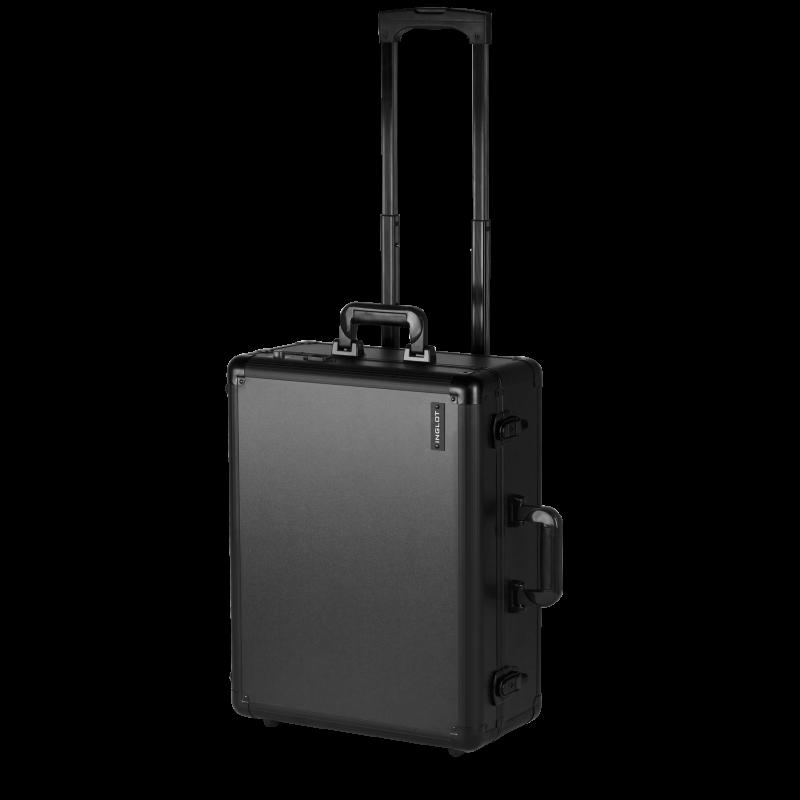 Czarna walizka do wizażu na kółkach (KC-58ML)