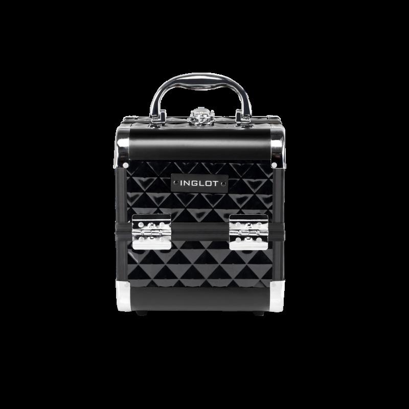 Kufer kosmetyczny diamentowy mini black (MB152M)