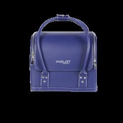 Kufer kosmetyczny profesjonalny niebieski (MB162)