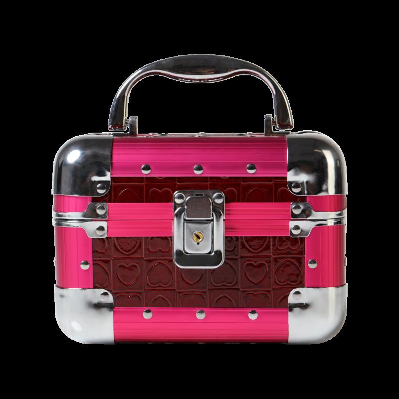 Kufer kosmetyczny różowy mini (KC-PM01)