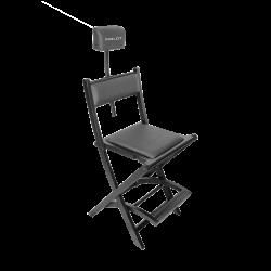 Profesjonalne krzesło do wizażu z zagłówkiem icon