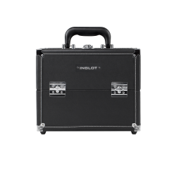 Kufer kosmetyczny z białą nicią mały (KC-S01M)
