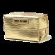 Kosmetyczka o wzorze skóry krokodyla złota (R24245B)