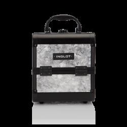 Kufer Kosmetyczny Mini Flower Silver (MB152M Flower Silver)
