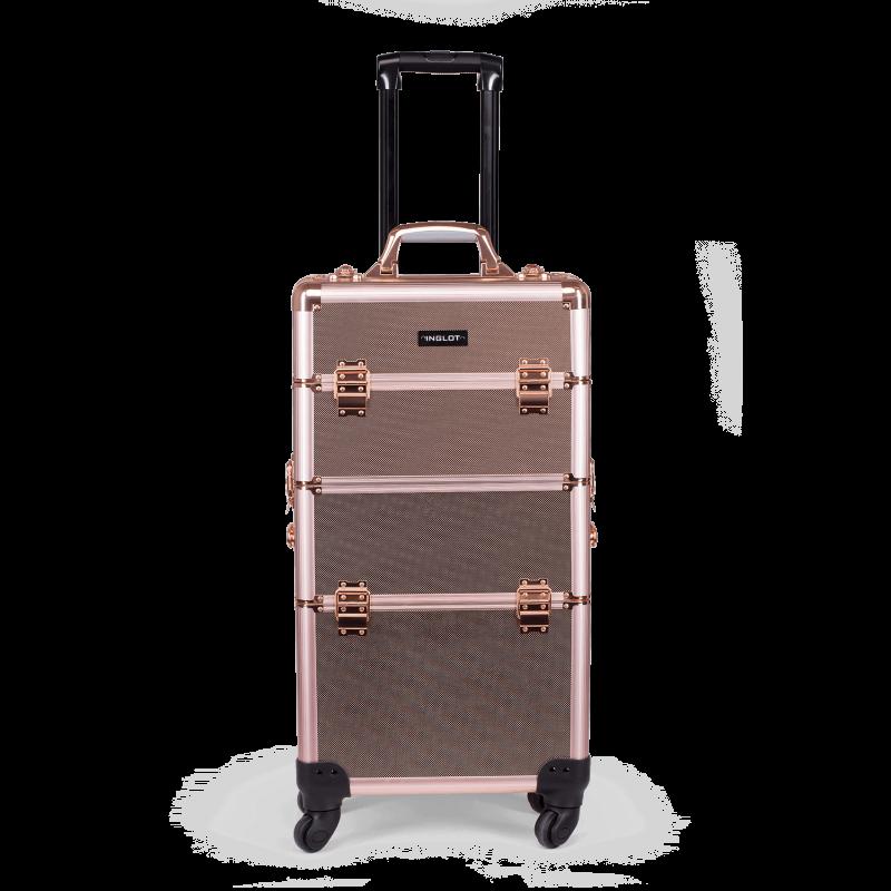 Kufer kosmetyczny rose gold (KC-TR002)
