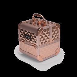 Kufer Kosmetyczny Diamentowy Mini Rose Gold (MB152M Big Diamond K107 4)